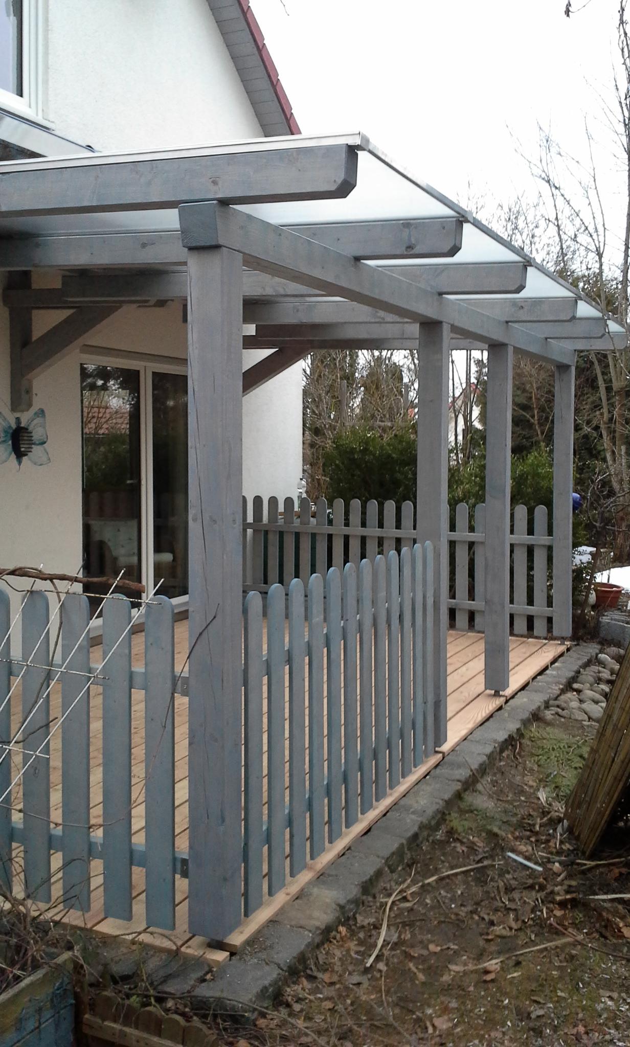 zimmermeister christian uelk sanierung einer terrasse mit berdachung. Black Bedroom Furniture Sets. Home Design Ideas