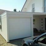 Garagenüberdachung mit direkter Verbindung zum Haus!