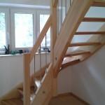 Gewendelte Treppe!