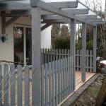 Sanierung einer Terrasse mit Überdachung